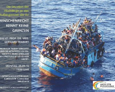"""Veranstaltung: """"Menschenrecht kennt keine Grenzen"""""""